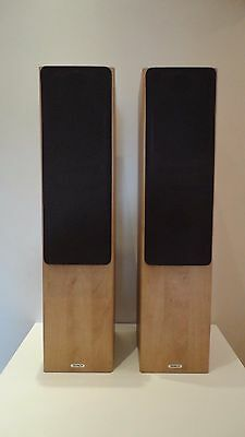 Tannoy Mercury F3 Main / Stereo Speakers 140w in Apple Wood Finish
