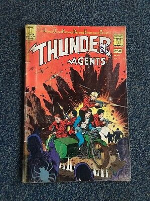 Thunder Agents Comic March No. 11