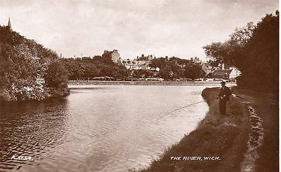 The River Wick Fishing  unused RP old pc  Valentines