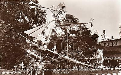 The Shell ByPlane XD - 100 Festival Gardens  Battersea Park London  unused RP pc