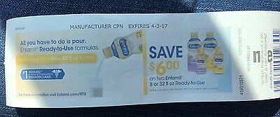 Meijers Coupon: $6 Off Two Enfamil Ready-to-Use Formulas (8oz or 32oz)