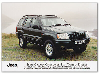 Jeep Grand Cherokee 3.1 Turbo Diesel Press Release Photograph