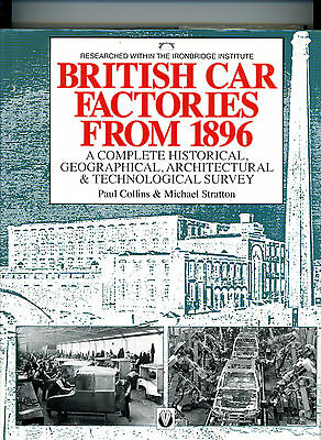 British Car Factories from 1896