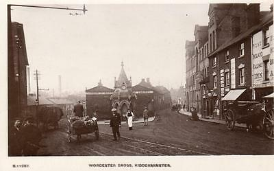 Worcester Cross Kidderminster unused RP pc WHS Kingsway S 11287