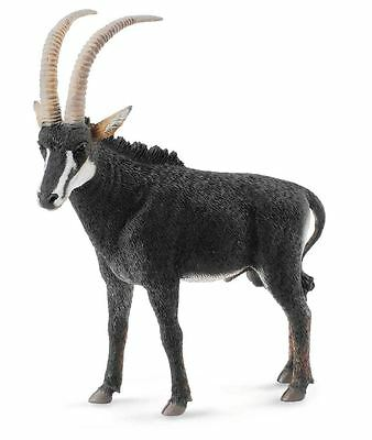Collecta Animali Selvaggi Wild Life Giant Sable Antelope Male 88564 Antilope
