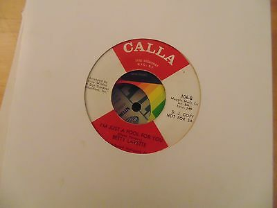 betty lavettei'm just a fool for you/-stand up like a man-calla northern soul dj