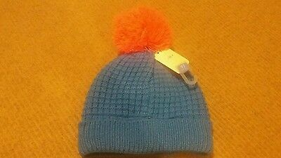 Girls knitted pom pom hat from next age 3-6 years brand new with tags!