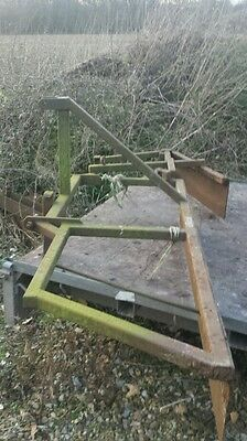 Tractor linkage mounted leveller grader for horse arena?
