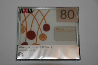 Minidisc AXIA  Select your style MD-im(3) 80 RARE!!!! NEW!!