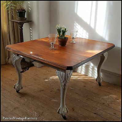 Stunning Large Antique Extending Dining Table
