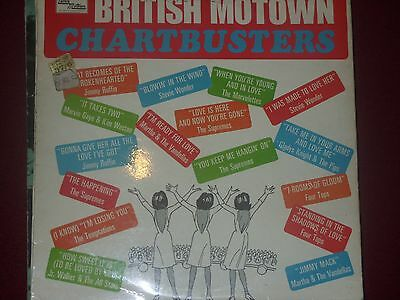 Motown Chartbusters Lp Vg Stml 11055 60S Cover