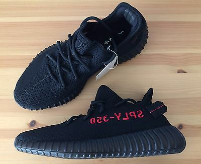 Adidas Yeezy Boost 350 V2 Black/Red CP9652 Size 9