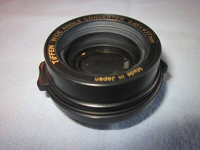 Tiffen Wide Angle Converter 37mm x 0.65