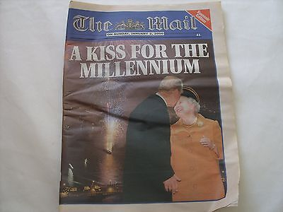THE MAIL ON SUNDAY MILLENNIUM EDITION JANUARY 2nd 2000 SOUVENIR EDITION