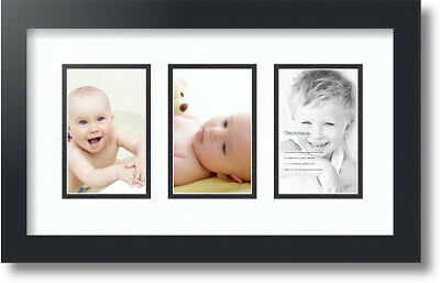 Arttoframes Collage Mat Picture Photo Frame 4 8x10 Openings Satin