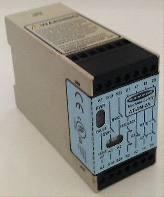 Banner Machine Safety Two-Hand Control Module Relay AT-AM-2A