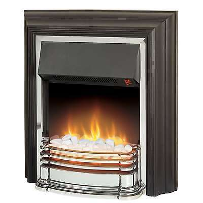 Dimplex DTT20  Detroit 2kW 2 Settings Electric Freestanding Fire in Black