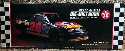Davey Allison Die-Cast Bank - 1993 Collector's Series, Texaco Havoline Racing