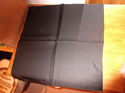 40 Black, Hand Made Italian Silk Pocket Squares