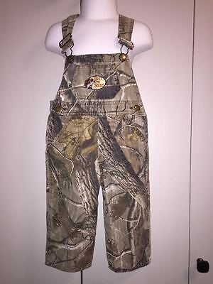 Toddler Boys (Bass Pro Shops) Camouflage Overalls Size L (12-18M) - GUC!!!