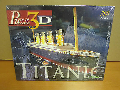 Puzz 3D - Titanic - 398 Piece 3D puzzle - Sealed (Old Stock)