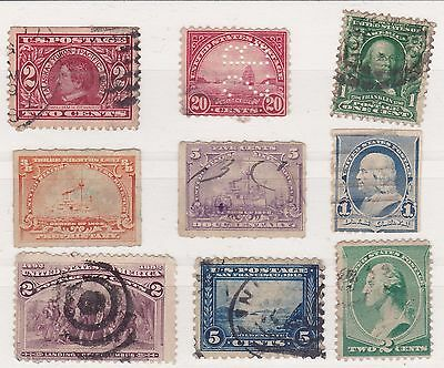 Usa Stamps.  Used Stamp Assortment. Ref 12