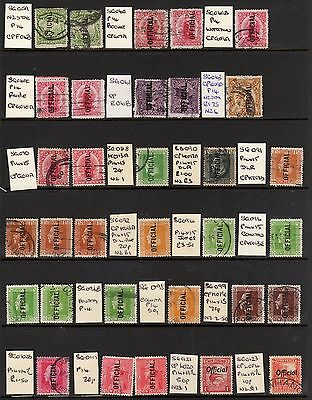 "New Zealand February Clearout ""Official"" Used Selection on 2 Cards. Nice Lot"