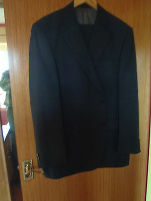 Mens Navy two piece suit by Marks and Spencer