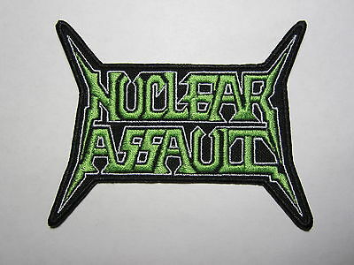 NUCLEAR ASSAULT logo embroidered NEW patch thrash metal
