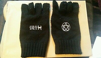 HIM Heartagram Rare  Fingerless Gloves Ville Valo