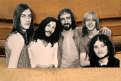 "Fleetwood Mac With Peter Green Rock Music Band Tabletop Standee 10 1/2"" Long"