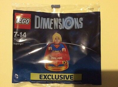 Lego Dimensions Supergirl Brand New Sealed Limited Edition 71340 Rare