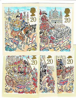 GB 1989, PHQ121, set of 5 Cards, Lord Mayor's Show, Mint Condition. Freepost