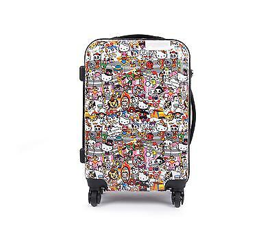 "Sanrio tokidoki x Hello Kitty 19"" Travel Carry On  Suitcase: Circus Collection"