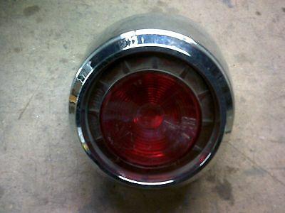 Vintage 1960-61 Dodge Pioneer Dart Taillight Housing And Lens Nos Scta