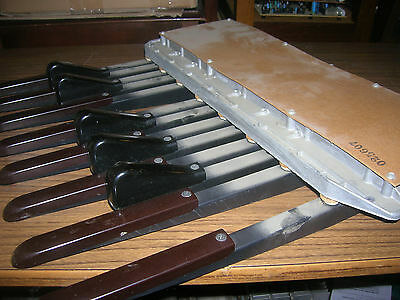 One Octave Organ (13 note) bass pedal board for MIDI Project