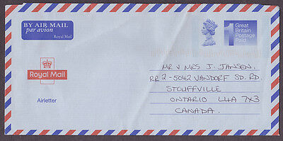 Great Britain postal history Royal Mail Air letter - used