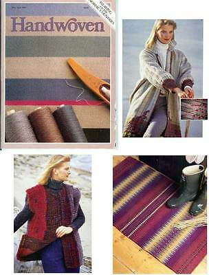 Handwoven magazine may/june 1987: WEAVING OF THE NORDIC COUNTRIES. See info.