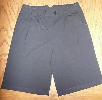Girls Black School City Shorts From Marks & Spencers Age 13