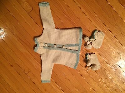 1920 Baby sweater and booties
