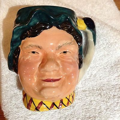 Ridgway collection. Vintage farmer's wife Toby jug. Female character Tobu Jug.