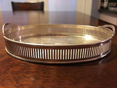 Petite Sterling Silver 127gr. Oval Tray