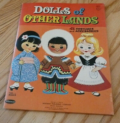 Vintage Dolls of Other Lands Paper Dolls Whitman Publishing Company