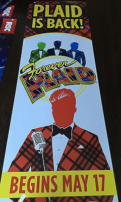 FOREVER PLAID Theater  MUSICAL One Of A Kind Banner Poster