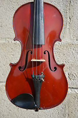 Old FRENCH violin, LABERTE-HUMBERT Bernardel model 1920, with authentification