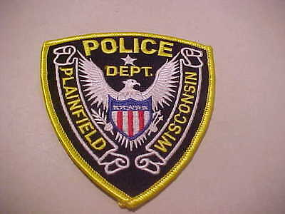 Plainfield  Wisconsin Police Patch
