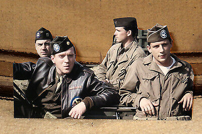 """""""Band of Brothers"""" World War 2 TV Series Tabletop Standee 11"""" Long"""