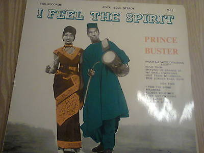 Prince Buster Lp.i Feel The Spirit.fab Label 1970 Ms2.