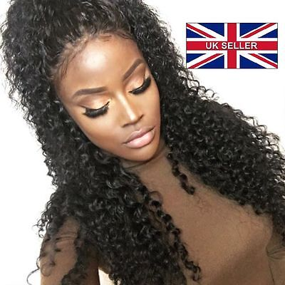 """360 lace frontal closure 100% human hair Brazilian  8"""" curly"""