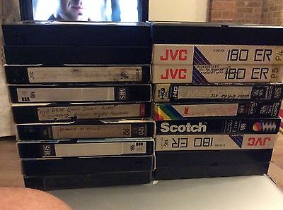 VHS Original TV Recordings 1987 - 2010 Antiques Roadshow, Audience With Ken Dodd
